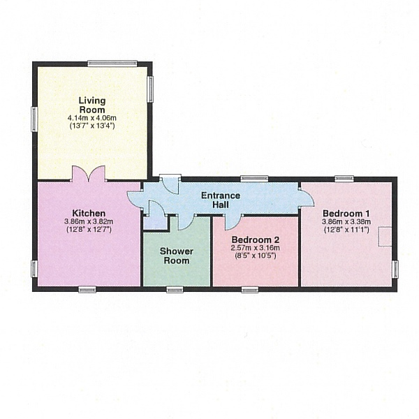 Skethaways Floor Plan