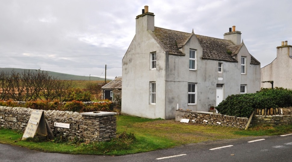 Ulva Cottage incorporating Westray Pottery, Pierowall, Westray, KW17 2BZ