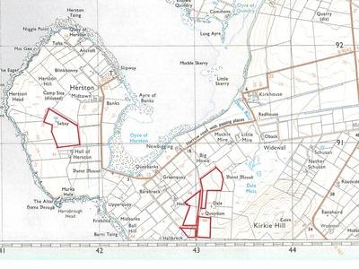 Lands Of Quoydam & Sebay, South Ronaldsay