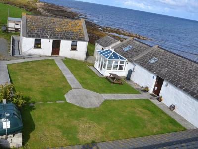 Aerial hostel and cottage