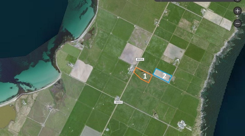 2 Potential Building Sites near Lucknow, Shapinsay, KW17 2EB