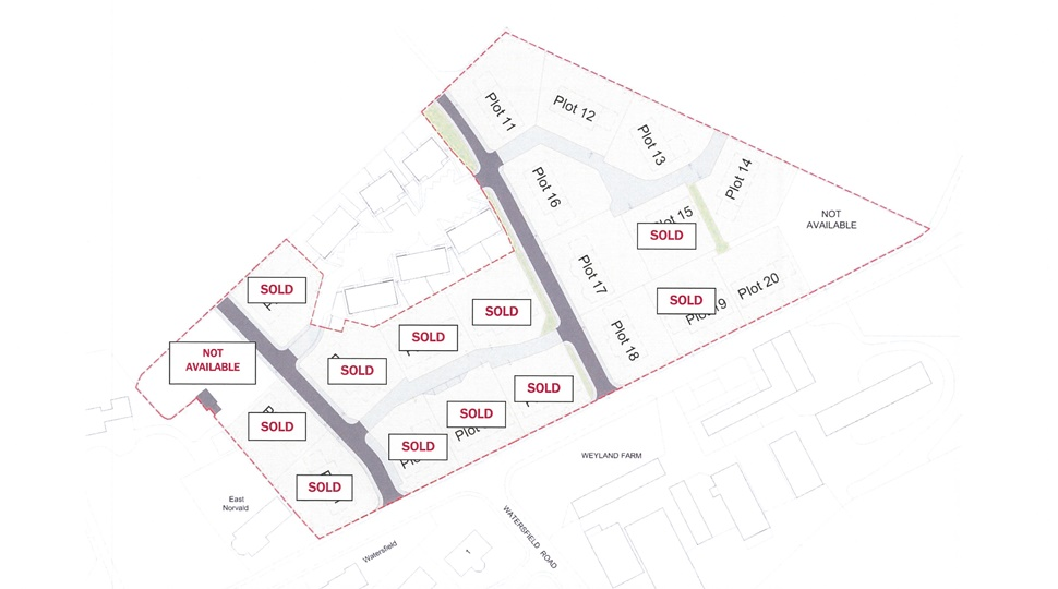 8 Building Plots at Watersfield, Kirkwall