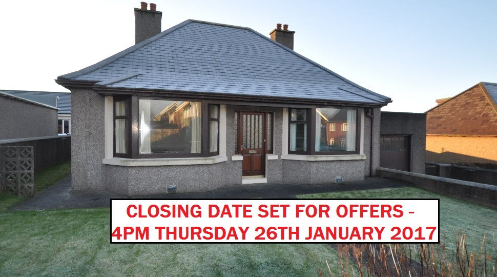 Lynndale, Pipersquoy Road, Kirkwall, KW15 1EF