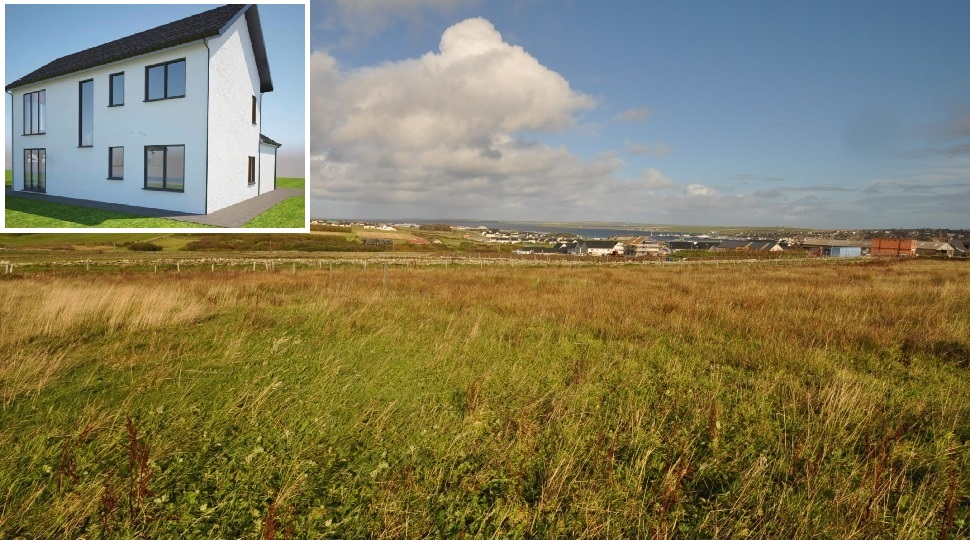 2 New Build Houses, Plot 3 & 4, Old Finstown Road, Kirkwall, KW15 1TW