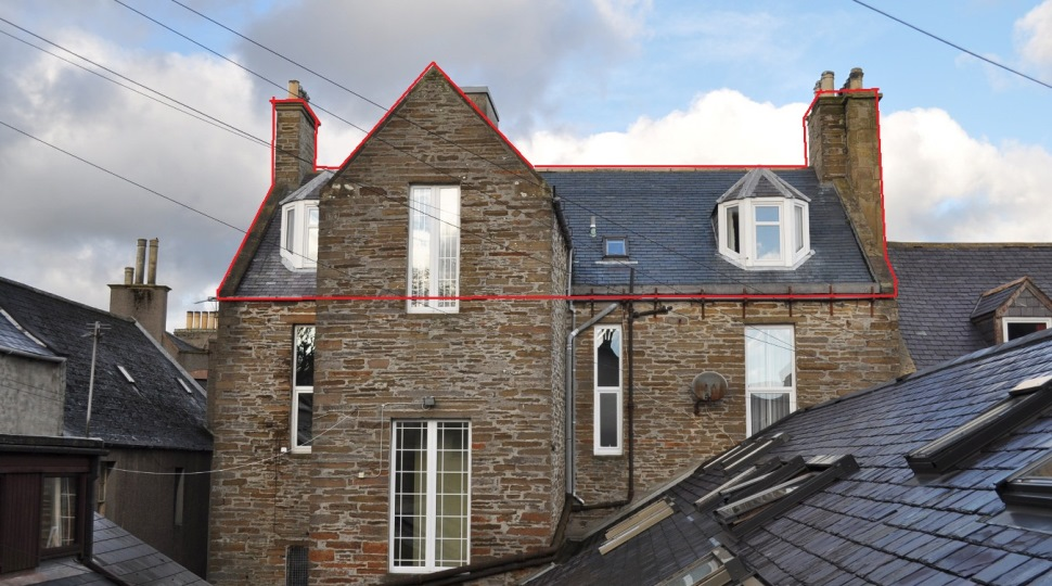 Sunrise Apartment, 28B Albert Street, Kirkwall, KW15 1HL